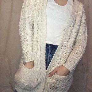 Cashmere styled cardigan